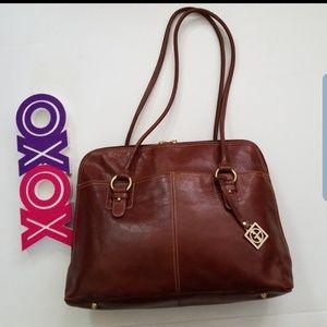 NWOT! Gianni Bernini Leather Handbag
